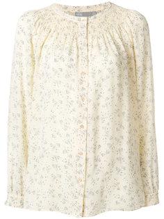 блузка с вышитым дизайном Vince