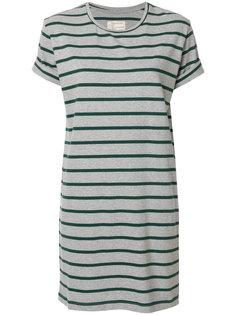 платье в полоску с короткими рукавами  Current/Elliott