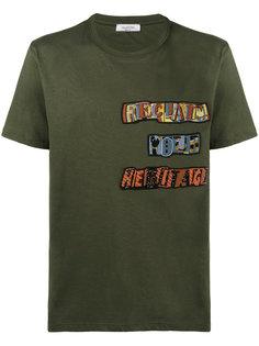 футболка reclaim your heritage  Valentino