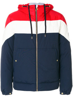 пальто-бомбер с капюшоном Moncler Gamme Bleu