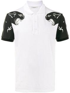 футболка-поло с принтом пантер Valentino