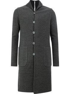 однобортное пальто Label Under Construction