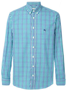 классическая рубашка в клетку Etro