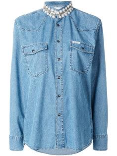 джинсовая рубашка Honor Forte Couture