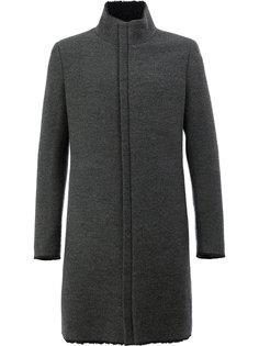 пальто на потайной молнии Label Under Construction