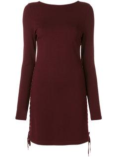 платье со шнуровкой  McQ Alexander McQueen