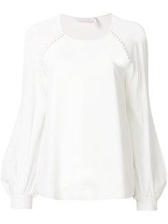 блузка с рукавом-колокол Chloé