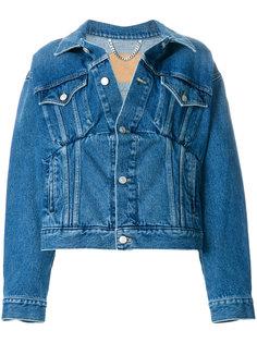 джинсовая куртка Swing Balenciaga