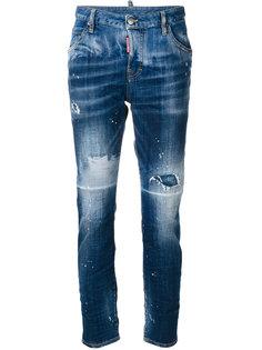 джинсы Cool Girl с потертой отделкой Dsquared2