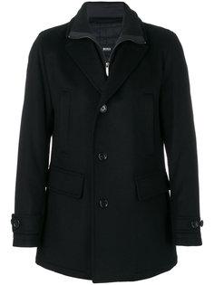 многослойное пальто Boss Hugo Boss