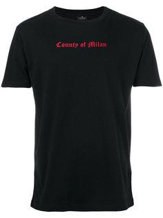 футболка Tekaio Marcelo Burlon County Of Milan