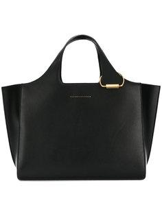 сумка-тоут с логотипом Victoria Beckham