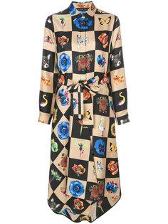платье-рубашка Kipu Etro