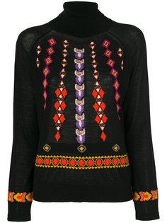 свитер с высоким воротником Jem Etro