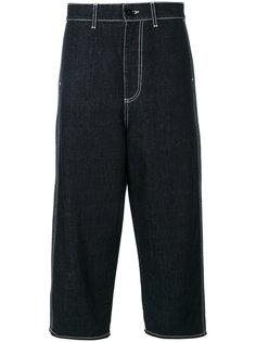 джинсовые укороченные брюки  Marni