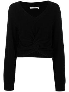 свитер с перекрученной деталью T By Alexander Wang
