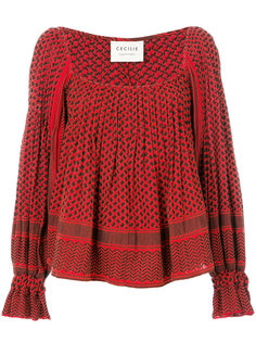 расклешенная блузка Cecilie Copenhagen