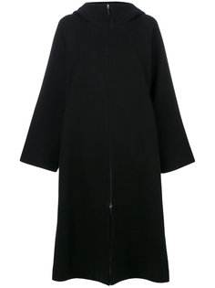пальто с капюшоном и широкими рукавами The Row