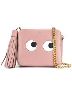 сумка через плечо с изображением глаз Anya Hindmarch