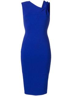 приталенное платье без рукавов Victoria Beckham