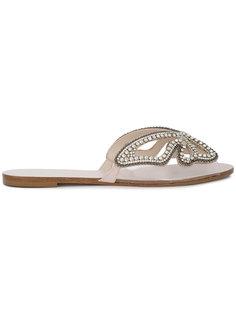 сандалии с кристаллами Madame Butterfly Sophia Webster