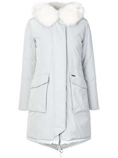 пуховое пальто Military Woolrich