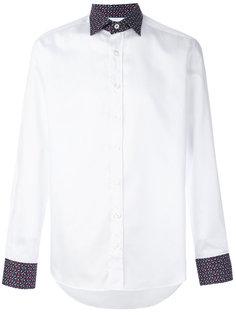 рубашка с контрастной отделкой Etro