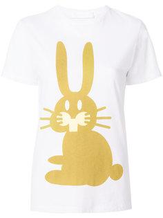 футболка с кроликом Peter Jensen