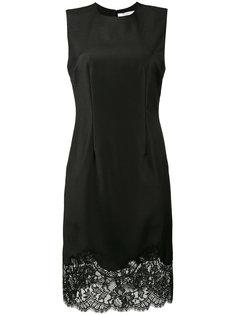 платье без рукавов с кружевной отделкой Givenchy