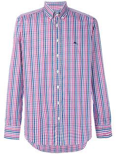 клетчатая рубашка на пуговицах Etro