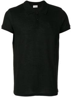 классическая рубашка-поло Saint Laurent