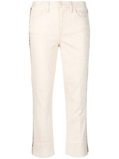 укороченные джинсы  Tory Burch