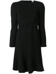 расклешенное платье с перекрестной отделкой  M Missoni