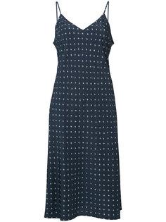 платье с принтом Vince