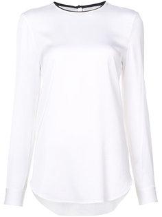 двухцветная блузка Victoria Victoria Beckham