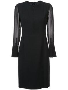 платье с V-образным вырезом Akris