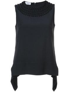 блузка с вышивкой Akris Punto