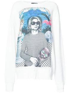 футболка с принтом Kurt Cobain R13