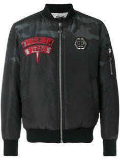 куртка-бомбер Chojiro  Philipp Plein