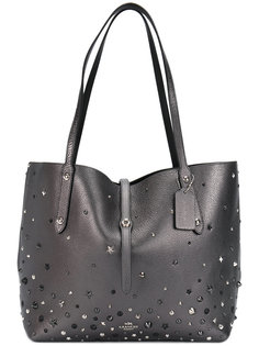 сумка-тоут с заклепками Coach