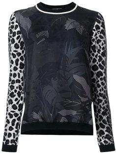 блузка с принтом Salvatore Ferragamo