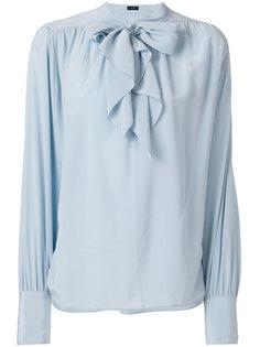 блузка с завязкой  Joseph