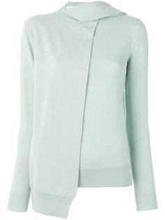 свитер с запахом на одну сторону Victoria Victoria Beckham