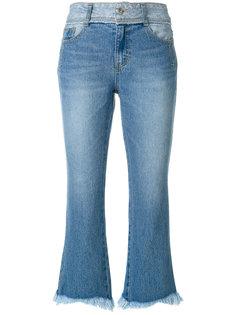 укороченные расклешенные джинсы Sjyp