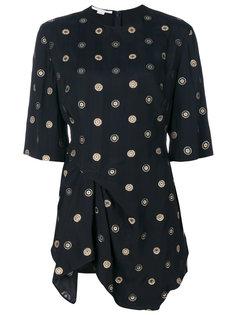 блузка с вышивками Stella McCartney
