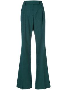 классические брюки с завышенной талией Prada
