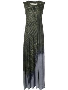 платье макси с принтом тай-дай Raquel Allegra