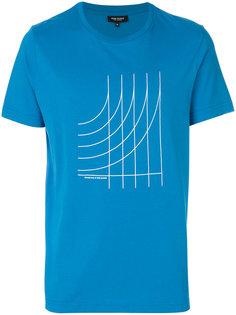 футболка с графическим принтом Ron Dorff