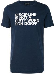 футболка discipline  Ron Dorff