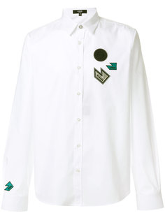рубашка с нашивками Versus